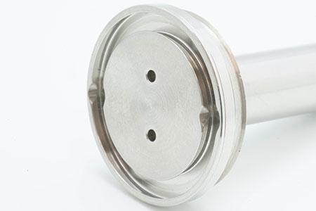インコネルのアリ溝加工